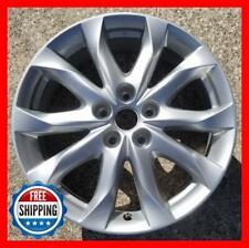 """Mazda Mazda3 2014-2017 Factory Oem Wheel 18"""" Rim 64962 Silver #B"""