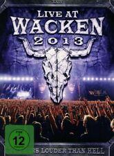 LIVE AT WACKEN 2013 3 DVD NEU