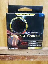 Marumi DHG ND-100000 77mm Digital Neutral Density Filter-Solar Eclipse Original