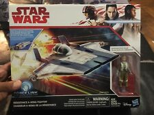 Star Wars Force Link Resistance A-Wing Fighter with Resistance Pilot Tallie MISB