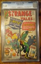 Strange Tales #123 CGC 1.8 Dr. Strange, Loki, Thor, 1st App of Beetle GD/VG 1964