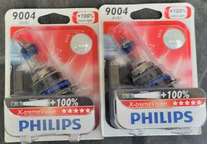 LOT 2 BULBS PHILIPS 9004XVB1 X-TREMEVISION BULBS 9004 FOR PETERBILT 385 95-04