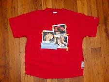 Vintage FUBU Platinum Muhammad Ali Boxing Champion Fights T-Shirt size 2XL Red