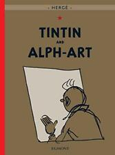 Tintin and Alph-Art (Adventures of Tintin) by Herge | Hardcover Book | 978140521