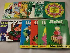 12 verschiedene pixi Bücher - Heidi usw
