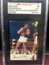 1992 Classic Muhammad Ali On Card Auto Autograph Signed Boxing Certified SGC