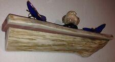 Cedar Log Shelf / Rustic /Wood/ Cabin / Lodge Decor /Log Furniture /wall shelves