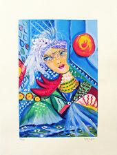 """MARIA MURGIA - """"Composizione"""" - Serigrafia a 30 colori cm 40x30"""
