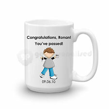 Personalised Congratulations Passed Driving Test Gift Large Mug For Men Boys #3