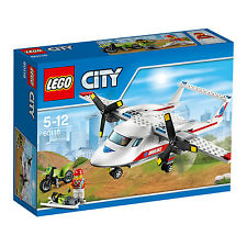 60116 Lego Ambulance Flugzeug City Great Vehicles alter 5-12/183 PCs/NEU 2016