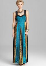 FREE PEOPLE Star Dust Maxi Dress In Ocean Size 8  $400.00 NWT F448Y640