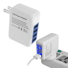 3.1A 4 Ports USB Portable Home Travel Wall Charger US Plug AC Power Adapter DT