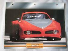 Stola Abarth Monotipo 98 Dream Cars Card