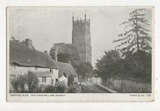 Campden Glos Old Cider Mill & Church Vintage Postcard  211a