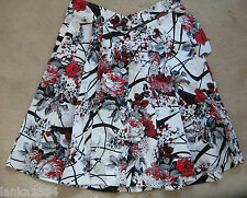 100% Cotton Printed Calf Length Skirt (NEW) Diff colours-Medium or Large £28.00