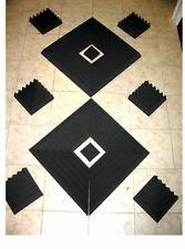 "2"" Thick Studio Acoustic Soundproofing Foam Tiles 24""x 24"""