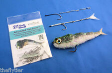 FISH SKULL ARTICULATED FISH SPINE - fly tying shanks