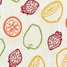 """Canvas Heavy Cotton Upholstery Apron Home Decor Curtain Fabric Fruits Red 44""""w"""