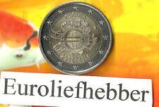 Spanje           2 Euro Commemorative  2012   (10 Jaar Euro)  UNC  OP VOORRAAD