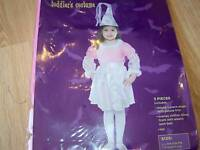 Toddler Size 2T-4T Pink Princess Halloween Costume Dress & Hat New