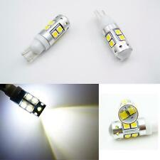 2Pcs 50W T10 W5W 10 SMD CREE High Power Led Car White Light Reverse Tail Bulbs