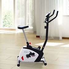 Magnetic Exercise Bike Cardio Adjustable Resistance Upright Fitness Bicycle New