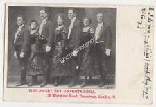 The Smart Set Entertainers Canonbury London Vintage Postcard 685b