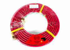 5 METER OXYACETLYN TWIN HOSE WITH BRASS FITTINGS OXY ACET *OLYMPIC*