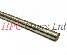 4.5mm Silver Steel Ground Bar Rod 333mm Model Maker Shaft HPC Gears