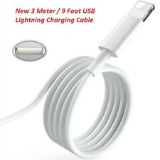 New Original iPhone Lightning Cable 3m / 9ft+ USB Charging / Data Cord