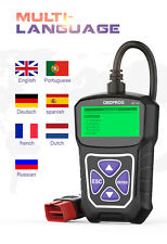 Check Car Engine Light Automotive Code Reader OBD2 Scanner Fault Diagnostic