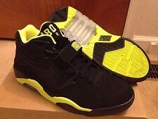 Nike Air Force 180 Black Volt, size 11, 310095 012, NBA, Champs, CB,