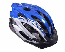 GIANT ARES BICYCLE HELMET SMALL/MEDIUM TRAIL BIKE HELMET 51-54cm BLUE & SILVER