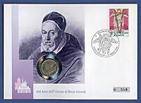 Numisbrief Vatikan Brest-Litovsk 100 L Johannes Paul Stemp 1996 #548 NBA8/22