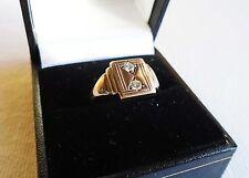 Diamond Signet Rings for Men