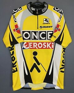 SHIRT GIORDANA ITALY MEN'S CYCLING BICYCLE JERSEY MAGLIA MAILLOT SIZE 2XL XXL 6