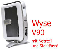 THINCLIENT MICRO MINI COMPUTER WYSE V90 WinXPe FÜR MS-DOS WINDOWS 95 98 2x RS232