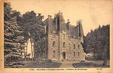 BR43385 Parigne l eveque chateau de montbraye      France