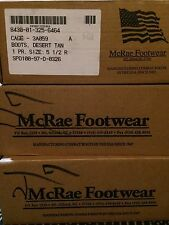New McRae Military Combat Warm Weather Boots Hunting Camping Size 4.5 Mens Women