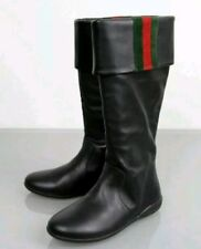 Autentic girls GUCCI kids black boots Size 31 (UK 12.5)