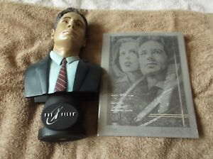"""X-Files """"SPECIAL AGENT FOX MULDER"""" Limited Edition Bust + more! - LOOK!!!"""