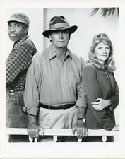 JAMES GARNER JUDITH IVEY BILL COBBS DECORATION DAY ORIGINAL 1990 NBC TV PHOTO