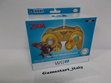 GAMECUBE STYLE WII & WII U CONTROLLER ZELDA EDITION - NINTENDO - NEW DISPONIBILE