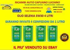 OLIO PER AUTO/MOTORI SELENIA 5W-30 4L. FIAT/OPEL/ALFA ROMEO/LANCIA