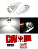 2x T10 194 168 White 6000K 5630 3W LED 6SMD Car Light Dome Bulb Super Bright
