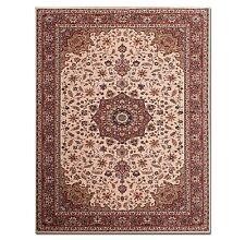"6'6"" x 9'8"" Extremely dense European 300 KPSI Persian Tabriz Area Rug 100% wool"