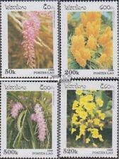 Laos 1534-1537 (complète edition) neuf avec gomme originale 1996 Orchidées