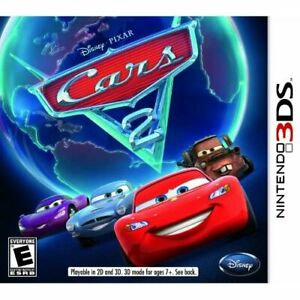Cars 2 For 3DS Disney Racing Very Good 3E