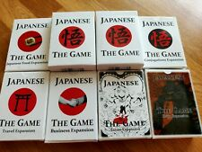 'Japanese The Game' Card Language Learning Game