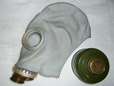 Russian Gas Mask White Gray GP5 Nuclear Radiation Filter Soviet Surplus USSR 70s